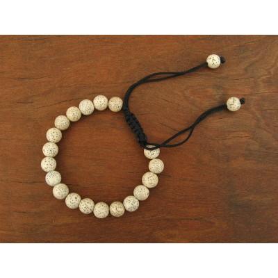 MB31 Bracelet Tibétain en Graines de Lotus