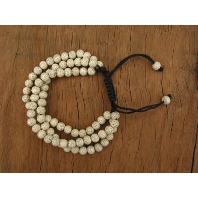 MB35 Bracelet Tibétain en Graines de Lotus
