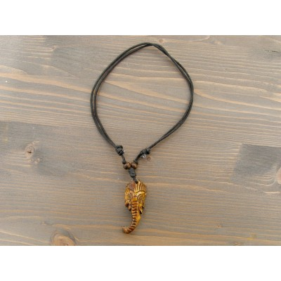 CT16 Collier Tibétain Ganesh Eléphant