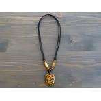 CT41 Collier Tibétain Symbole Om