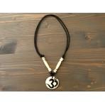 CT56 Collier Tibétain Symbole Om